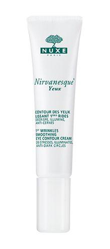 Nirvanesque® Yeux : contour des Yeux lissant 1ères rides. Décrispe, illumine, anti-cernes. #nuxe #nirvanesque - Parfumerie et parapharmacie - Nuxe