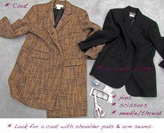 wearing: J Brand Love Story flares // old turtleneck // Altuzarra for Target ankle boots // Marc Jacobs Sunglasses // Celine bag Next up in my DIY Duster Vest, Vest Coat, Sleeveless Coat, Old T Shirts, Diy Clothing, Wool Coat, Refashion, Wrap Dress