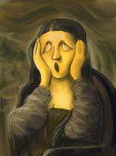 Scream - Munch - Mona Lisa