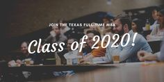 MBA 2020: Where different cultures get united to form a single unique culture - McCombs Culture.