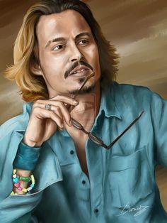 Johnny Depp by DarDesign.deviantart.com