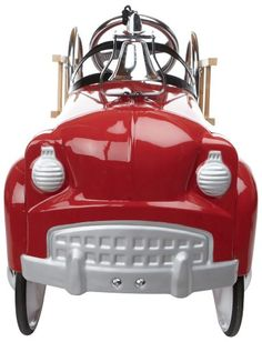 InStep Fire Truck Pedal Car - Front