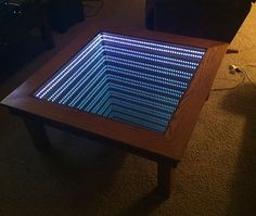 Infinity Mirror Coffee Table
