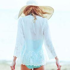 New Bell resort coming soon ... #love #lace #resortwear #beachwear #boho #bohemian #style #beachstyle #fashion #tunics #dress #travel #vacation #beaches #wanderlust #weekend #inspiration #followthesun #coverups