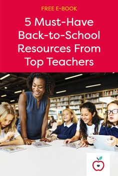 Find out what successful teachers use to start the school year off on the right foot in our FREE back-to-school e-book!