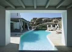 Greek Luxury Villas Mykonos Grand Estate Pool View
