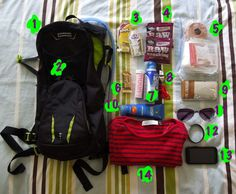 What's in your trail running backpack?