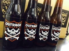 「OUTRAGE ビール」の画像検索結果