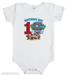 ee103048 12 Best paw patrol shirts images | Birthday party ideas, Ideas for ...
