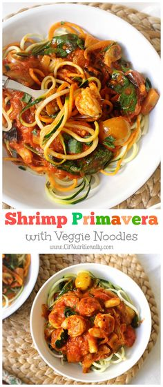 Shrimp Primavera wit