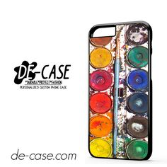 Messywatercolorset DEAL-7069 Apple Phonecase Cover For Iphone 6 / 6S