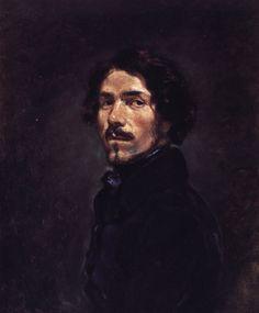 Eugéne Delacroix - Self Portrait, 1842
