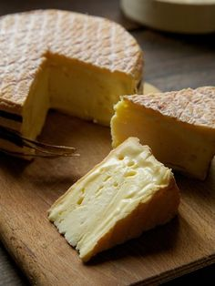 """The pungent Livarot is considered one of the great cheeses of Normandy; it is nicknamed """"colonel"""" as the bands of raffia evoke a colonel's uniform."""