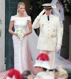 Robe de mariee Charlene de Monaco