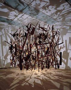 Cornelia Parker, 'Cold Dark Matter: An Exploded View' 1991