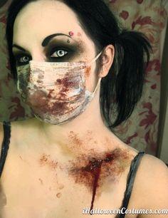 Nevermore makeup for Halloween Halloween Costumes 2013