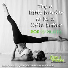 Want to feel good, be confident and break out of your comfort zone? Get into Pop…