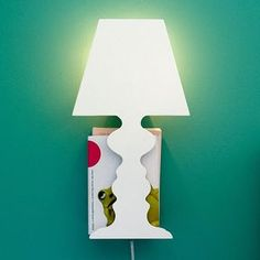 Read + Store Wall Light