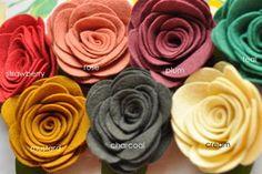 felt flowers crafts