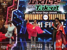#Riedel's STX-200 brings #Skype connectivity into the professional broadcast environment at India's Got Talent.