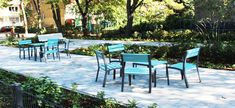 Outdoor Furniture Sets, Outdoor Decor, Cityscapes, Vienna, Bench, Tables, Chairs, Home Decor, Landscape Planner