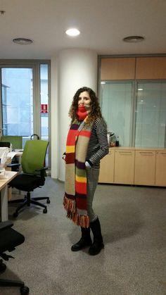 Mercan Design: Doctor Who Atkısı Nasıl Yapılır? #doctorwho #scarf #knitting #handmade