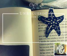 Separador de libro en forma de estrella de mar. Un detallito bonito y práctico para tu evento.  Envíos a todo #México :)  UnRecuerdo.com