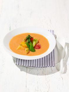 【ELLE a table】赤パプリカたっぷりのガスパチョレシピ|エル・オンライン