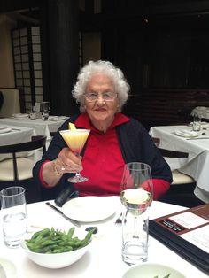 Lydia's Bastianich's Italy...a grand Italian nonna...Lydia's mom, Erminia.