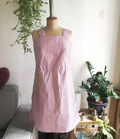 Work in progress. Summer dress for vacation with @26rueducanal  #diy #summer #kinfolk #sew #plants #sewingbee #japanesefashion #dress #homemade #DIY #imakeclothes #handmade