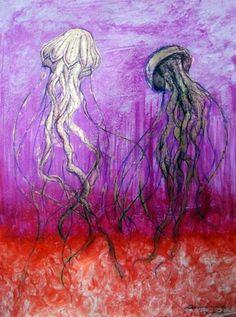 «Medusas» | Roxanne Nájar Barniz / Papel