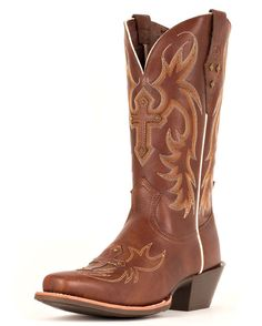 Ariat Legend Spirit Boot. Love these for a plain brown boot.