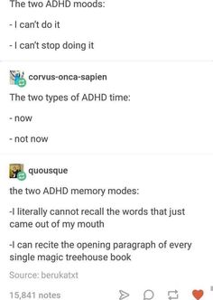 Do I Have Adhd, Types Of Adhd, Adhd Funny, Adhd Humor, Adhd Brain, Adult Adhd, Adhd And Autism, Mental Disorders, Motivation