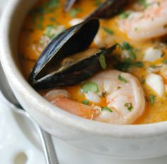 Fish, Shrimp  Mussel Stew: Brazilian seafood stews of this type will blow your mind. Every time I cook this dish, the reaction is the same: amazement. #Brazil