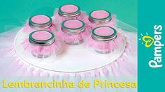DIY Decoração de chá de Bebê de Princesa: Prato de Bolo | Pampers BR