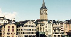 Switzerland Itinerary: 15 places to visit in Zurich - Sophie's Suitcase Romantic Honeymoon, Romantic Places, Romantic Travel, Switzerland Itinerary, Switzerland Trip, Top Honeymoon Destinations, Kairo, Water Images, Famous Places