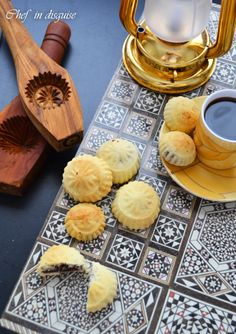 Ma'amoul Middle Eastern Filled Cookies and molds