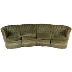 Tufted Sofa by Brandt