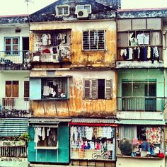 Back alley housing, District 1, Saigon. Photo by legalnomads