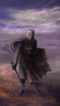 Hospitaler knight in the Holy Land