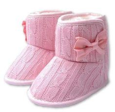 Bright Baby Girls Prewalkers Sweet Soft Warm Shoes Antiskid Toddler Flower Polka Crib Shoes New Moderate Cost Mother & Kids