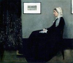 James McNeill Whistle, Portrait de la mère de l'artiste