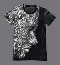cross bone splat t shirt menswear pinterest bedrucken tod und kissen. Black Bedroom Furniture Sets. Home Design Ideas
