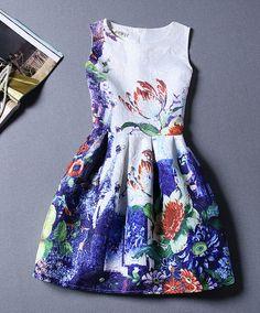 Printed sleeveless dresses