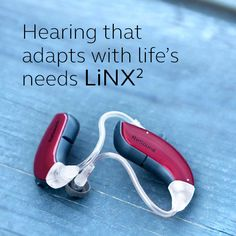 Hearing that adapts with life's needs LiNX2  Visit resound.com/hearing-aids/linx2