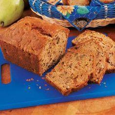 Pecan Pear Bread Recipe