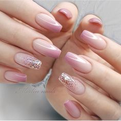 Gel Nail Art Designs, French Nail Designs, Winter Nail Designs, Ombre Nail Designs, Pretty Nail Designs, Nail Designs For Easter, French Manicure With Design, Acrylic Nails Designs Short, Latest Nail Designs