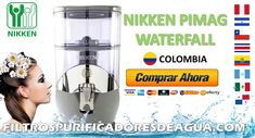 NIKKEN PIMAG WATERFALL Waterfall, Certificate, Water Quality, Drinking Water, Yellow Pages, Colombia, Water Filter, Palmyra, Waterfalls