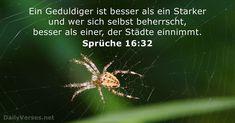 Sprüche 16:32 - dailyverses.net