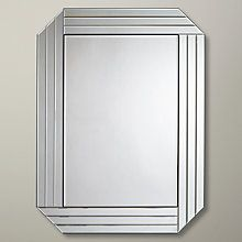 Buy John Lewis & Partners Burgate Mirror, 101 x Clear from our Mirrors range at John Lewis & Partners. Room Color Schemes, Room Colors, Mirror Decor Living Room, Mirror Shop, Frameless Mirror, Glass Vanity, Graphic Wallpaper, Wall Mounted Mirror, Corner Designs